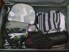 我的大行李箱-沒裝啥就快滿的感覺