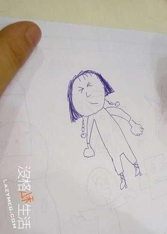 克拉克畫的媽媽-_-