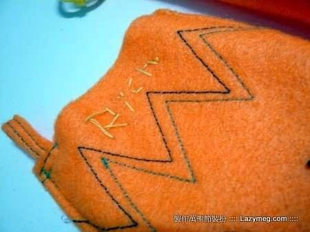 Halloween 萬聖節-沒格的不織布作品 RICH