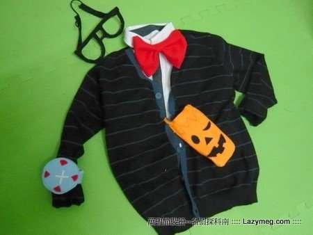 Halloween 萬聖節-沒格的不織布作品 科南