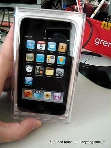 我的第一台apple-ipod touch