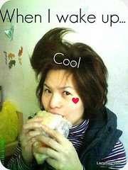 2009-01-17-剛起床....很秋的髮型