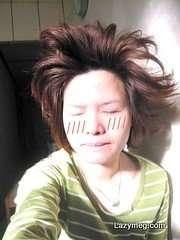 2009-0217 WAKE UP 起床的髮型