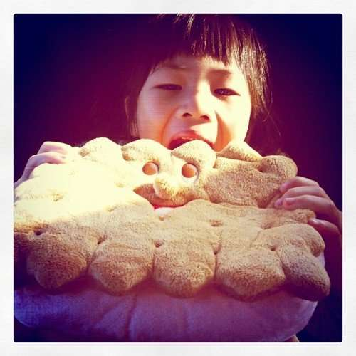 她的餅乾包包