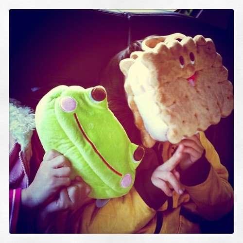 餅乾,青蛙二兄妹
